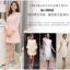 ชุดเดรสสวยๆ ผ้าชีฟองชนิดหนา สีชมพูโอรส ดีไซน์สวยด้วยการปักฉลุช่วงไหล่และอก thumbnail 3
