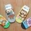 A022 **พร้อมส่ง**(ปลีก+ส่ง) ถุงเท้าแฟชั่นเกาหลี แบบลายการ์ตูน น่ารัก เนื้อดี งานนำเข้า( Made in Korea) thumbnail 2