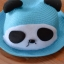 Y001-4**พร้อมส่ง** (ปลีก+ส่ง) หมวก สาน เด็ก ลายแพนด้า แฟชั่นเกาหหลี งานนำเข้า(Made in China) thumbnail 4