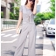 แฟชั่นเกาหลี set เสื้อ และกางเกงสวยหรู พร้อมสร้อยคอสีทองเก๋ๆ เหมือนแบบ thumbnail 2