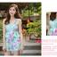 ชุดว่ายน้ำวันพีช โทนสีฟ้า ลายดอกไม้สวยสดใส หวานปนเซ็กซี่ thumbnail 2