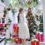 ชุดเดรสสไตล์เจ้าหญิง ผ้าลูกไม้ปักลายสีขาว งานปักละเอียดสวยมากๆ thumbnail 6