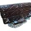 กระเป๋าสตางค์ยาว หนังวัวแท้ ลวดลาย กนก ประณีต สวยงาม เป็นกระเป๋าสตางค์แบบ 2 พับ พร้อมโซ่ thumbnail 1