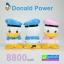 Donald Power bank แบตสำรอง โดนัลด์ ดั๊ก 8800 mAh thumbnail 1