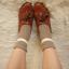 ถุงเท้าน่ารัก สไตล์พับข้อ thumbnail 3