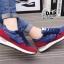รองเท้าผ้าใบแฟชั่น ทรง Sport ลายเรียวสวย thumbnail 3