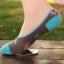 S176 **พร้อมส่ง** (ปลีก+ส่ง) ถุงเท้าคัทชู แฟชั่นเกาหลี มี 4 สี เนื้อดี งานนำเข้า(Made in China) thumbnail 5