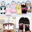 A035**พร้อมส่ง**(ปลีก+ส่ง) ถุงเท้าแฟชั่นเกาหลี ข้อสั้น มีขา มี 6 แบบ เนื้อดี งานนำเข้า( Made in Korea) thumbnail 1