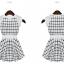 [พร้อมส่ง] 2014 ฤดูร้อนเดรสแขนกุดลายใหม่คอกลม แขนเสื้อปักลายลูกไม้ thumbnail 8