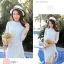 แฟชั่นเกาหลี set 2 ชิ้น เสื้อและกระโปรงผ้าลูกไม้สุดสวย thumbnail 4
