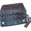 กระเป๋าสตางค์ยาว หนังวัวแท้ ลวดลาย กนก ประณีต สวยงาม เป็นกระเป๋าสตางค์แบบ 2 พับ พร้อมโซ่ thumbnail 4