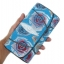 กระเป๋าสตางค์ปลากระเบน แบบ 3 พับ เม็ดใหญ่ ลวดลาย ดอกกุหลาบ หลากหลายสีสัน คุ้มค่า เพราะมีช่องใส่บัตรต่าง ๆหลายช่อง Line id : 0853457150 thumbnail 2