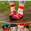 ถุงเท้าน่ารักลายลุงแซนต้า-ขอบเขียว thumbnail 5