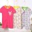 พร้อมส่ง ขายส่งชุดทารกเพศหญิง ชุดแขนสั้น Romper jumpsuit รหัส T-66019 ยกแพ็คสุ่มแบบ 3 ชุดไซร์ 9M (เด็ก6-9 เดือน ) /1 แพ็ค 3 ชุด ชุดละ 150 บาท thumbnail 1