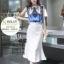 เสื้อผ้าแฟชั่นเกาหลี set เสื้อและกระโปรง สวยเก๋ thumbnail 1