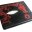 กระเป๋าสตางค์ปลากระเบน ลายมังกรแดงผยอง Line id : 0853457150 thumbnail 3