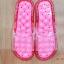 K010-RD **พร้อมส่ง** (ปลีก+ส่ง) รองเท้านวดสปา เพื่อสุขภาพ ปุ่มใหญ่ สีแดง ถอดพื้นทำความสะอาดได้ ส่งคู่ละ 180 บ. thumbnail 3