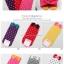 S018**พร้อมส่ง** (ปลีก+ส่ง)ถุงเท้าแฟชั่นเกาหลี โบว์หน้า ลายจุด ข้อสั้น มี 8 สี ดำ เทา น้ำเงิน แดง ม่วง เหลือง ชมพู ขาว เนื้อดี งานนำเข้า (Made in China) thumbnail 2