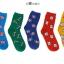 S372**พร้อมส่ง** (ปลีก+ส่ง) ถุงเท้าแฟชั่นเกาหลี ชาย ข้อยาว เนื้อดี งานนำเข้า(Made in china) thumbnail 1