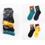 S327**พร้อมส่ง**(ปลีก+ส่ง) ถุงเท้าข้อยาว แฟชั่นเกาหลี มี 12 คู่ต่อแพ็ค เนื้อดี งานนำเข้า(Made in China) thumbnail 9