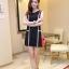 เสื้อผ้าแฟชั่น ชุดเดรสแฟชั่น สีดำ ใส่ทำงาน หรือใส่เที่ยวสวยมากๆ ครับ thaishoponline.net (พร้อมส่ง) thumbnail 2