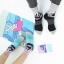 S447**พร้อมส่ง** (ปลีก+ส่ง) ถุงเท้าแฟชั่นเกาหลี ข้อยาว เนื้อดี งานนำเข้า(Made in china) thumbnail 1
