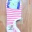 S033**พร้อมส่ง**(ปลีก+ส่ง) ถุงเท้าข้อสั้นใต้ตาตุ่ม ลายขวาง มี 5 สี เนื้อดี งานนำเข้า thumbnail 2