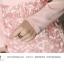 ชุดเดรสสวยๆ ผ้าคอตตอนผสม spandex เนื้อนิ่มมาก แขนยาว สีชมพู คอวี thumbnail 9