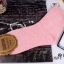 S363 **พร้อมส่ง** (ปลีก+ส่ง) ถุงเท้าแฟชั่นเกาหลี ข้อยาว คละ 5 สี มี 10 คู่/แพ็ค เนื้อดี งานนำเข้า(Made in China) thumbnail 4