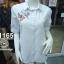 ( H 1165 ) เสื้อเชิ้ตงานปัก thumbnail 1