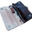 กระเป๋าสตางค์ยาว หนังวัวแท้ ลวดลาย กนก ประณีต สวยงาม เป็นกระเป๋าสตางค์แบบ 2 พับ พร้อมโซ่ thumbnail 3