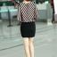 เสื้อทำงาน เสื้อแฟชั่น เสื้อเกาหลี เสื้อแขนยาว ผ้าชีฟอง ลายเฉียง คอวี สวยมากๆ (พร้อมส่ง) thumbnail 5