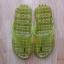 K013-DGR **พร้อมส่ง** (ปลีก+ส่ง) รองเท้านวดสปา เพื่อสุขภาพ ปุ่มเล็ก (ใส) หูหนีบ สีเขียวขี้ม้า ส่งคู่ละ 80 บ. thumbnail 2
