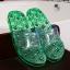 K022-GR **พร้อมส่ง** (ปลีก+ส่ง) รองเท้านวดสปา เพื่อสุขภาพ ปุ่มแม่เหล็ก สีเขียว ส่งคู่ละ 190 บ. thumbnail 1
