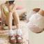 ถุงเท้าขอบระบายลูกไม้สีขาว thumbnail 3