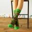 S307 **พร้อมส่ง**(ปลีก+ส่ง) ถุงเท้าข้อยาว แฟชั่นเกาหลี มี 12 คู่ต่อแพ็ค พร้อมกล่อง เนื้อดี งานนำเข้า(Made in China) thumbnail 5