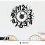 นาฬิกาพร้อมสติกเกอร์ CD814 thumbnail 1