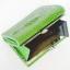 กระเป๋าสตางค์อัดลายหัวจรเข้ รูปทรงยาว เป็นแบบ Mini Clutch Wallet thumbnail 4
