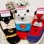 A007 **พร้อมส่ง**(ปลีก+ส่ง) ถุงเท้าแฟชั่นเกาหลี ข้อสั้น ลายซุปเปอร์ฮีโร่ (Super Hero)มี 4 แบบ เนื้อดี งานนำเข้า( Made in Korea) thumbnail 3