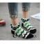 S367**พร้อมส่ง** (ปลีก+ส่ง) ถุงเท้าแฟชั่นเกาหลี ข้อสั้น แต่งขอบ ประดับลูกตุ้ม เนื้อดี งานนำเข้า(Made in china) thumbnail 14