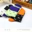 S359**พร้อมส่ง** (ปลีก+ส่ง) ถุงเท้าแฟชั่นเกาหลี ข้อยาว คละ 6 สี มี 12 คู่ต่อแพ็ค เนื้อดี งานนำเข้า(Made in China) thumbnail 3