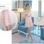 ชุดเดรสสวยๆ ผ้าไหมแก้ว organza ปักด้วยด้ายลายดอกไม้ สีชมพู สวยมากๆ thumbnail 4
