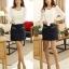 เสื้อทำงาน เสื้อแฟชั่น เสื้อเกาหลี เสื้อแขนยาว ผ้าชีฟอง ประดับพลอยที่คอ เสื้อสีขาว สวยมากๆ (พร้อมส่ง) thumbnail 3