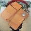 ซองหนังใส่กระเป๋าหนังแท้ + กระเป๋า หนังแท้ สีน้ำตาล thumbnail 5