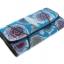 กระเป๋าสตางค์ปลากระเบน แบบ 3 พับ เม็ดใหญ่ ลวดลาย ดอกกุหลาบ หลากหลายสีสัน คุ้มค่า เพราะมีช่องใส่บัตรต่าง ๆหลายช่อง Line id : 0853457150 thumbnail 5