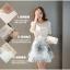 แฟชั่นเกาหลี set เสื้อและกระโปรง สวยสุดๆ thumbnail 3
