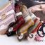 S352 **พร้อมส่ง** (ปลีก+ส่ง) ถุงเท้าแฟชั่นเกาหลี ข้อยาว คละ 5 สี มี 10 คู่/แพ็ค เนื้อดี งานนำเข้า(Made in China) thumbnail 4