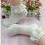 ถุงเท้าขอบระบายลูกไม้น่ารักมาก Size 34-38 thumbnail 1