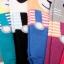 A017 **พร้อมส่ง**(ปลีก+ส่ง) ถุงเท้าแฟชั่นเกาหลี ลายเอี๊ยม มีหู มี 6 สี (แดง ดำ เทา ฟ้า ม่วง เขียว) เนื้อดี งานนำเข้า( Made in Korea) thumbnail 3