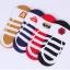 S192 **พร้อมส่ง** (ปลีก+ส่ง) ถุงเท้า ผ้าใบ ข้อสั้นใต้ตาตุ่ม มีซิลิโคนกันหลุดด้านหลัง มี 3 สี(แบบ) เนื้อดี งานนำเข้า(Made in China) thumbnail 7